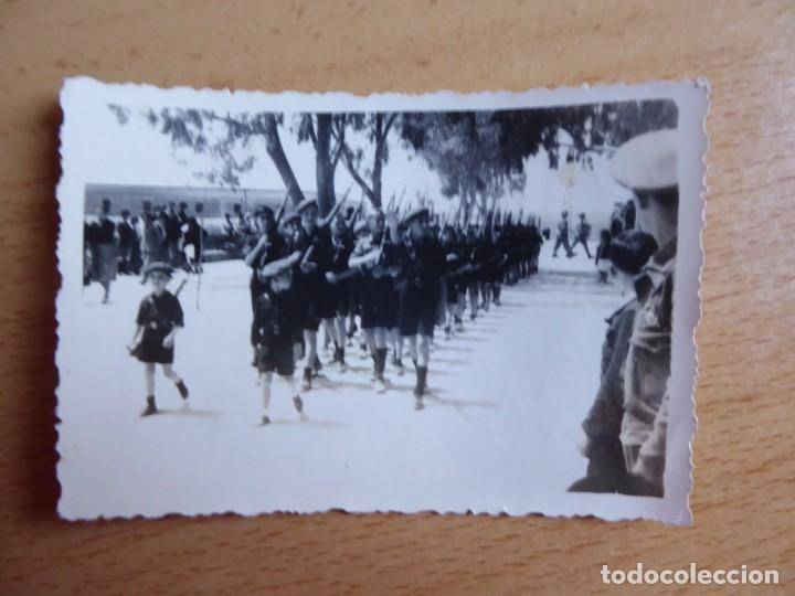 Militaria: Fotografía niños falangistas. Algeciras 1938 - Foto 2 - 140544886