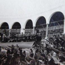 Militaria: FOTOGRAFÍA PLAZA DE TOROS ALGECIRAS. 1938. Lote 140545418