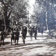 Militaria: FOTOGRAFÍA SOLDADOS DEL EJÉRCITO NACIONAL. ALGECIRAS 1938. Lote 140545570