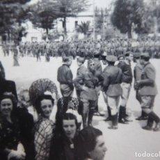 Militaria: FOTOGRAFÍA OFICIALES DEL EJÉRCITO NACIONAL. ALGECIRAS 1938. Lote 140545682