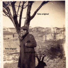 Militaria: SOLDADO ITALIANO CTV DIVISION LITTORIO EN ALCALA DE EBRO(ZARAGOZA) GUERRA CIVIL. Lote 140565038