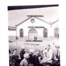Militaria: PRIMEROS SOLDADOS LEGION CONDOR EL FERROL CON ARMAMENTO 1936 GUERRA CIVIL . Lote 140567222