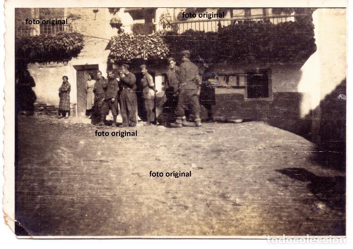 CTV ITALIANO DIVISION LITTORIO ALCALA DE EBRO (ZARAGOZA) RUMBO ALCAÑIZ(TERUEL) GUERRA CIVIL (Militar - Fotografía Militar - Guerra Civil Española)