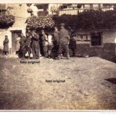 Militaria: CTV ITALIANO DIVISION LITTORIO ALCALA DE EBRO (ZARAGOZA) RUMBO ALCAÑIZ(TERUEL) GUERRA CIVIL. Lote 140570266