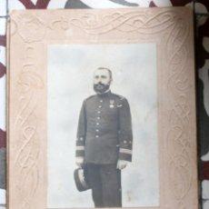 Militaria: FOTOGRAFÍA CAPITÁN INFANTERIA. Lote 140585142