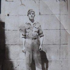 Militaria: FOTOGRAFÍA SOLDADO AVIACIÓN. 1941. Lote 140643326