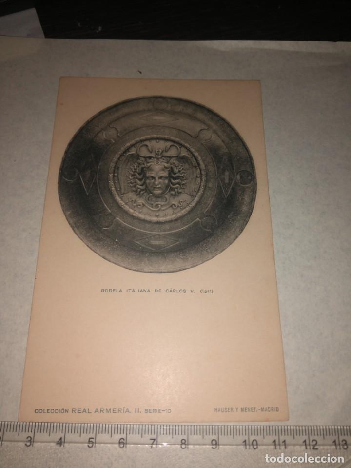 Militaria: 17 POSTALES REAL ARMERIA - Foto 2 - 140684150
