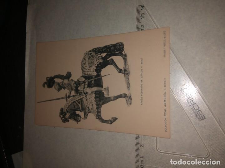 Militaria: 17 POSTALES REAL ARMERIA - Foto 5 - 140684150