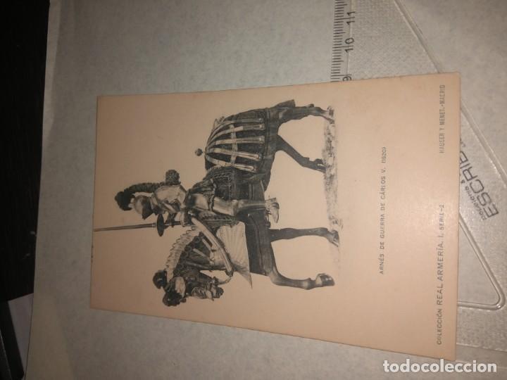 Militaria: 17 POSTALES REAL ARMERIA - Foto 6 - 140684150