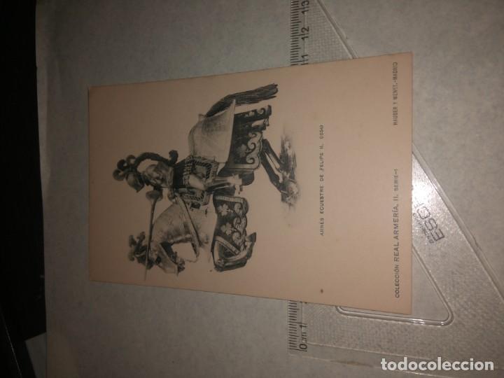 Militaria: 17 POSTALES REAL ARMERIA - Foto 7 - 140684150