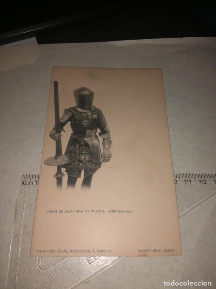 Militaria: 17 POSTALES REAL ARMERIA - Foto 10 - 140684150