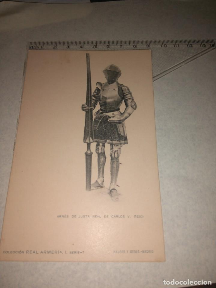 Militaria: 17 POSTALES REAL ARMERIA - Foto 13 - 140684150