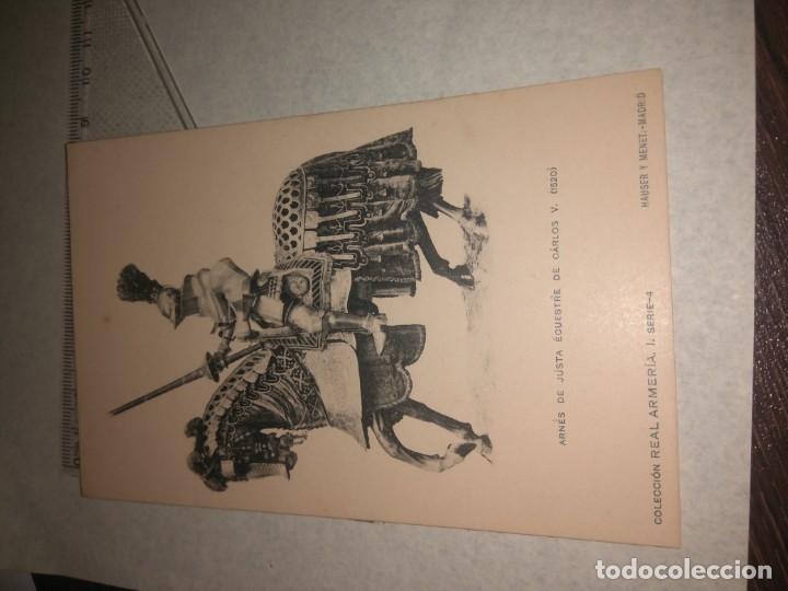 Militaria: 17 POSTALES REAL ARMERIA - Foto 14 - 140684150