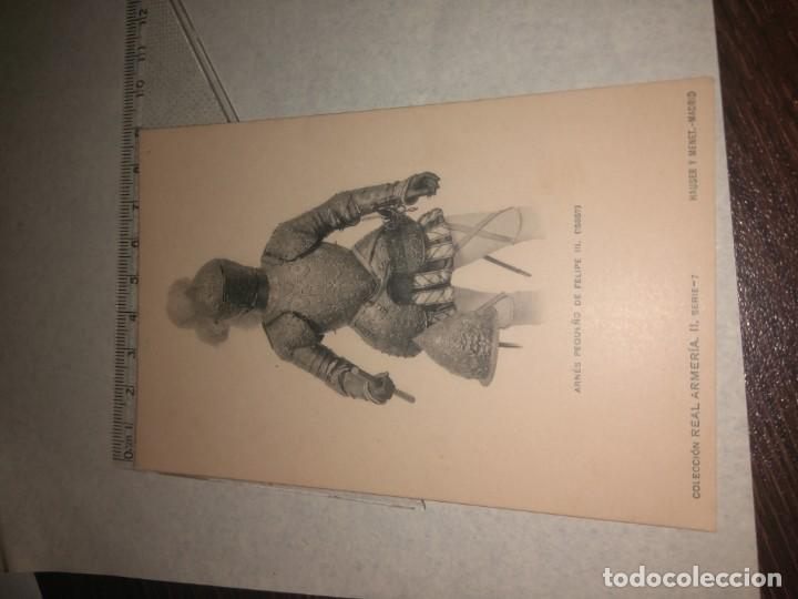 Militaria: 17 POSTALES REAL ARMERIA - Foto 17 - 140684150