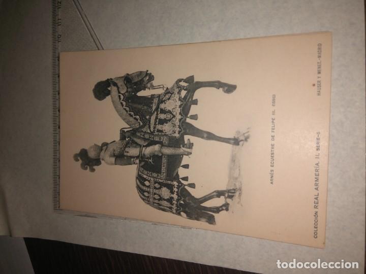 Militaria: 17 POSTALES REAL ARMERIA - Foto 18 - 140684150