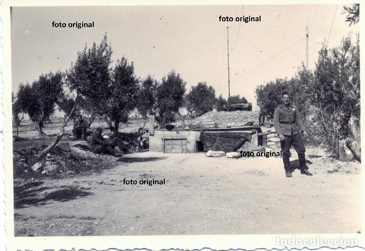 EQUIPO TRANSMISIONES LEGION CONDOR LN/88 ZONA ARAGONESA 1938 GUERRA CIVIL (Militar - Fotografía Militar - Guerra Civil Española)