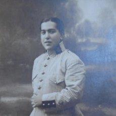 Militaria: FOTOGRAFÍA ALFÉREZ INTENDENCIA DEL EJÉRCITO ESPAÑOL. 1912. Lote 140805926
