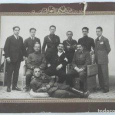 Militaria: FOTOGRAFIA DE MILITARES, OFICIALES DE DISTINTOS CUERPOS AÑOS 30, DE LA GUARDIA CIVIL, DE REGULARES, . Lote 140851734