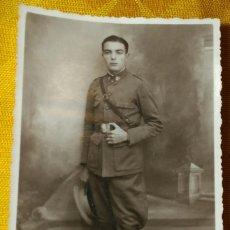 Militaria: FOTO POSTAL. SOLDADO CABALLERÍA, II REPÚBLICA. FOTO E. MAESTRO. TETUAN MADRID. 13,3 X 8.5 CM APROX.. Lote 140933618
