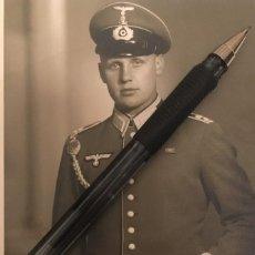 Militaria: FOTOGRAFIA SOLDADO DEL 17 REGIMIENTO DE CABALLERIA DE BRAUNSCHWEIG - ALEMANIA WWII. Lote 141237482