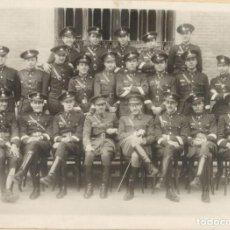 Militaria: SARGENTOS Y OFICIALES - INGENIEROS Y ARTILLERÍA - AUTOMOVILISMO - ÉPOCA REPÚBLICA - AÑO 1936. Lote 141255650