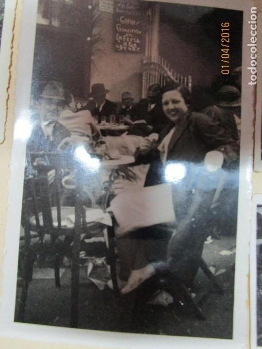 Militaria: LOTE FOTOS ANTIGUAS FERIA CEUTA 1939 GUERRA CIVIL FAMILIA MILITAR OFICIAL MARINA Y AVIACION - Foto 2 - 141450150