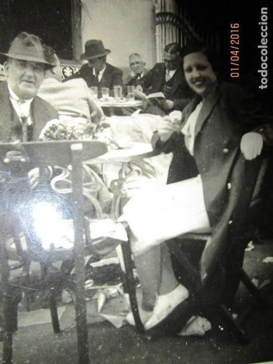 Militaria: LOTE FOTOS ANTIGUAS FERIA CEUTA 1939 GUERRA CIVIL FAMILIA MILITAR OFICIAL MARINA Y AVIACION - Foto 3 - 141450150