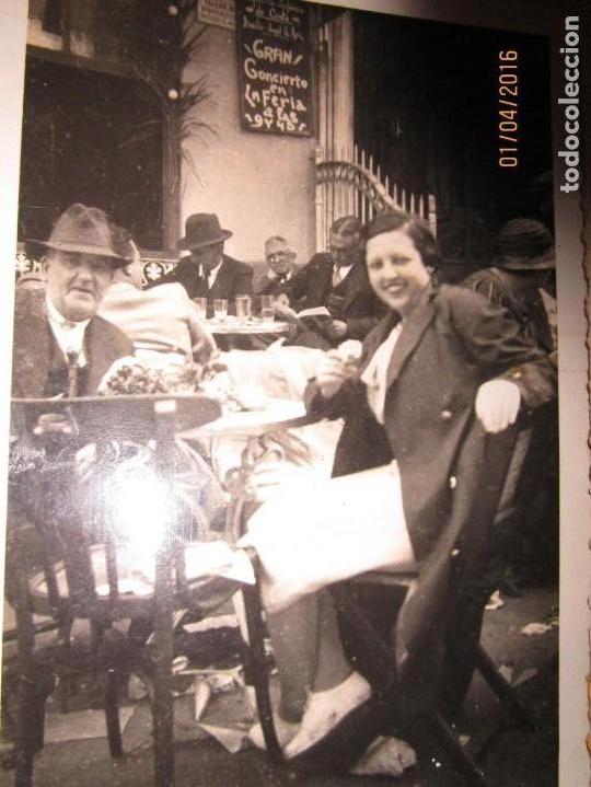 Militaria: LOTE FOTOS ANTIGUAS FERIA CEUTA 1939 GUERRA CIVIL FAMILIA MILITAR OFICIAL MARINA Y AVIACION - Foto 4 - 141450150