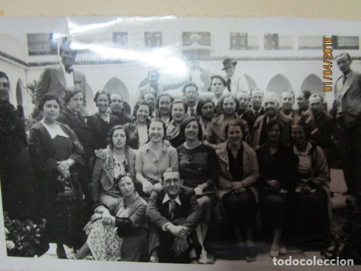 Militaria: LOTE FOTOS ANTIGUAS FERIA CEUTA 1939 GUERRA CIVIL FAMILIA MILITAR OFICIAL MARINA Y AVIACION - Foto 6 - 141450150