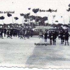 Militaria: DESFILE AUTORIDADES AERODROMO SALAMANCA 1937 GUERRA CIVIL. Lote 141483702
