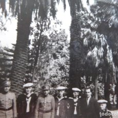 Militaria: FOTOGRAFÍA MARINEROS ALEMANES. ADMIRAL GRAF SPEE SINTRA. Lote 141513722