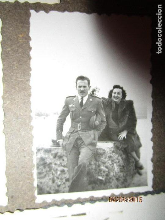 OFICIAL PILOTO LEGION AVIACION COMBATIENTE EN GUERRA CIVIL BON DE MELILLA CIRCA 1939 FINALES (Militar - Fotografía Militar - Guerra Civil Española)