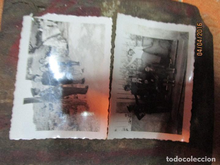 Militaria: dos fotos antiguas de ceuta capitan COMBATIENTE GUERRA CIVIL circa 1939 - Foto 2 - 141737534