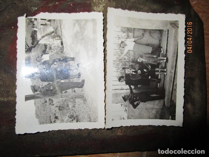 Militaria: dos fotos antiguas de ceuta capitan COMBATIENTE GUERRA CIVIL circa 1939 - Foto 3 - 141737534