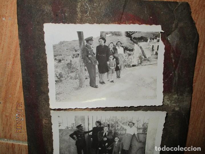 Militaria: dos fotos antiguas de ceuta capitan COMBATIENTE GUERRA CIVIL circa 1939 - Foto 4 - 141737534