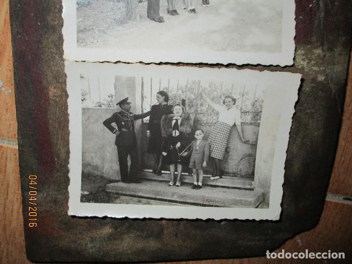 Militaria: dos fotos antiguas de ceuta capitan COMBATIENTE GUERRA CIVIL circa 1939 - Foto 5 - 141737534