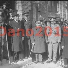 Militaria: HOMENAJE AL COMANDANTE MUÑOZ GRANDE 1924 - NEGATIVO DE CRISTAL - FOTOGRAFIA ANTIGUA. Lote 141755434