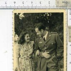 Militaria: FOTOGRAFIA MILITAR CAPITAN DE AVIACION CON ROKISKI. Lote 141840270