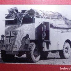 Militaria: FOTOGRAFÍA - II GUERRA MUNDIAL - AMBULANCIA - 10 X 15 CM. . Lote 141853486