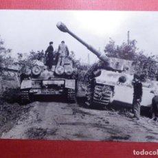 Militaria: FOTOGRAFÍA - II GUERRA MUNDIAL - TANQUES - CARROS DE COMBATE - 10 X 15 CM. . Lote 141853494