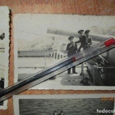 Militaria: BARCO GUERRA MARINA DE CEUTA Y ALICANTE OFICIAL GUERRA CIVIL 1939. Lote 141857398