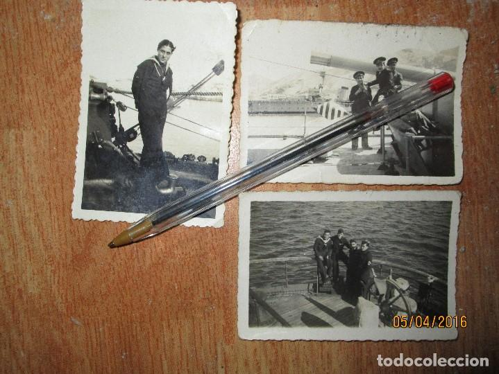 Militaria: BARCO GUERRA MARINA DE CEUTA Y ALICANTE OFICIAL GUERRA CIVIL 1939 - Foto 2 - 141857398
