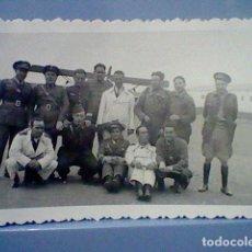 Militaria: REPUBLICA GUERRA CIVIL APROX AÑOS 30 MILITARES EJERCITO AIRE AVIONETA SELLO CALATAYUD TETUAN CEUTA . Lote 141918138