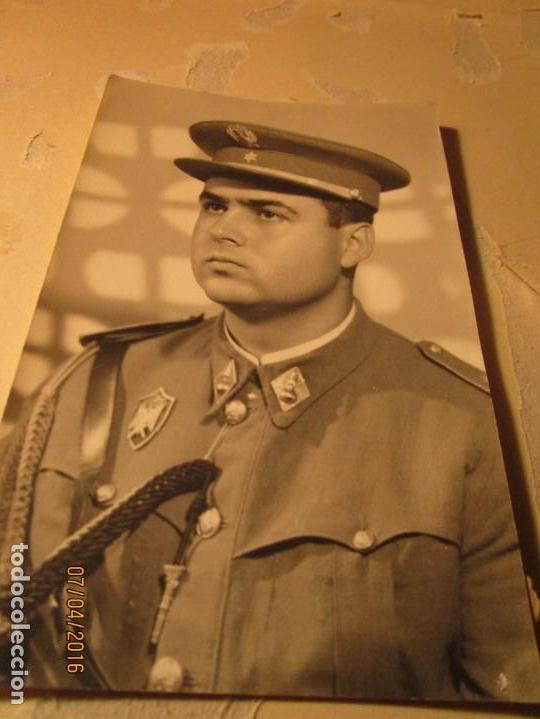 OFICIAL CEUTA POST GUERRA CIVIL ESPAÑOLA (Militar - Fotografía Militar - Guerra Civil Española)