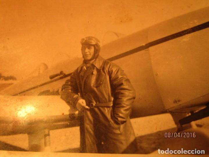 Militaria: PILOTO TEODORO CON AVION GUERRA CIVIL ESPAÑOLA CIRCA 1938 dedica a emilia FALANGISTA de ceuta - Foto 5 - 142193742
