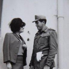 Militaria: FOTOGRAFÍA SOLDADO DEL EJÉRCITO ESPAÑOL.. Lote 142345138