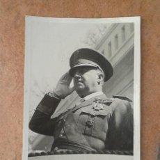 Militaria: FOTOGRAFÍA FRANCISCO FRANCO 11X17. Lote 142736754