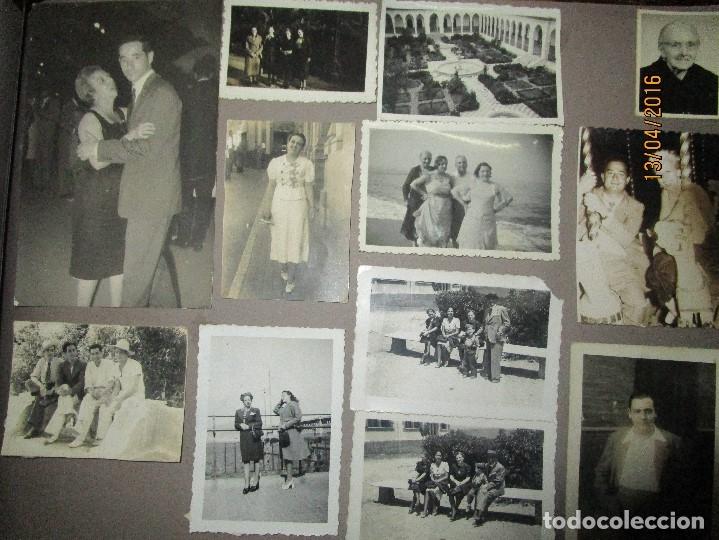 Militaria: POST GUERRA CIVIL ALBUM 214 FOTOS ANTIGUAS CEUTA MILITAR FIESTAS playa capitan avion - Foto 18 - 142265270