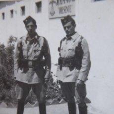 Militaria: FOTOGRAFÍA SOLDADOS REGULARES. LARACHE. Lote 142811122