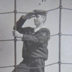 Militaria: FOTOGRAFÍA CADETE ACADEMIA NAVAL MARÍN.. Lote 142815690
